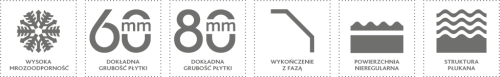 CYPRYJSKA – Szlachetne płukane - parametry